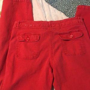 Fleur Bleue Pants - Red Pants 1f808df7ee6